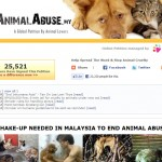 Stop Animal Abuse Online Petition