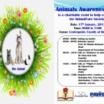 Animal Awareness Day At Universiti Malaya (Thursday, 17th Jan)!