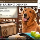 Noah's Ark Fund Raising Dinner: Friday, 1 November 2013