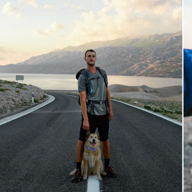 Guy Takes His Dog On The Most Epic Walk — Around The World