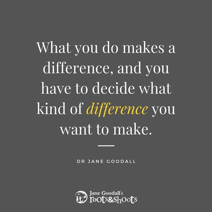 A Positive Difference Can Mean. Picking Up Trash A..