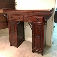 Rosewood Solid Console Sideboard / Altar Table