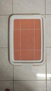 Pet Toilet Tray (Orange) -