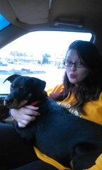 my fiance beth-ann birt and our buddy